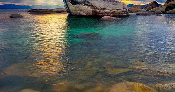 Bonsai Rock At Lake Tahoe - USA travel