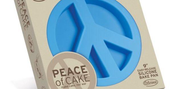 Peace Sign Cake Mold!