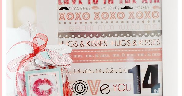 Valentine Gift Idea: DIY Kiss Me Bag Tutorial and free printable.
