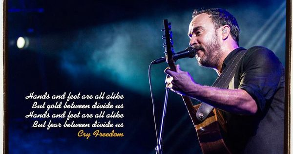 Cry Freedom - Dave Matthews Band (sub eng/spa) - YouTube