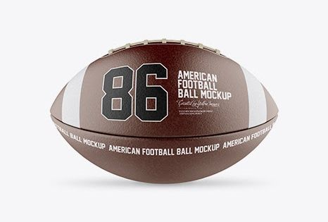 Download Download Psd Mockup American American Football Ball Ball Mockup Equipment Football Front View Gear High Quality High Qu Mockup Free Psd Mockup Mockup Downloads
