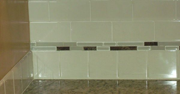 Sophisticated Subway Tiles In Kitchen With Softly White