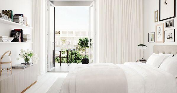 Beige Slaapkamer : Beige slaapkamers kamerhoge gordijnen and on