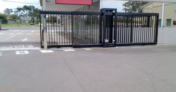 Commercial automatic security gates the motorised gate