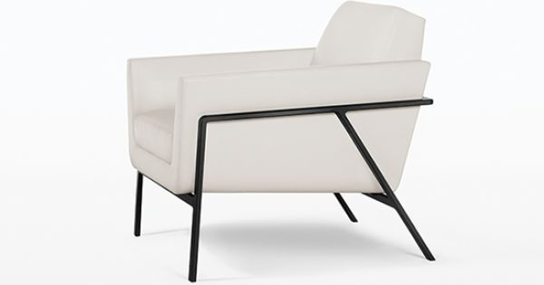 Lounge furniture - Holly Hunt Studio Stilt Coupe Lounge Chair Holly Hunt