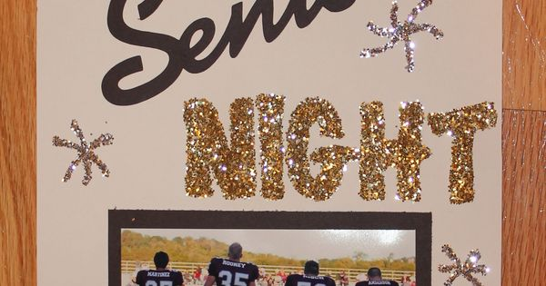 Senior Night Sign Cheerleader Locker Signs Pinterest