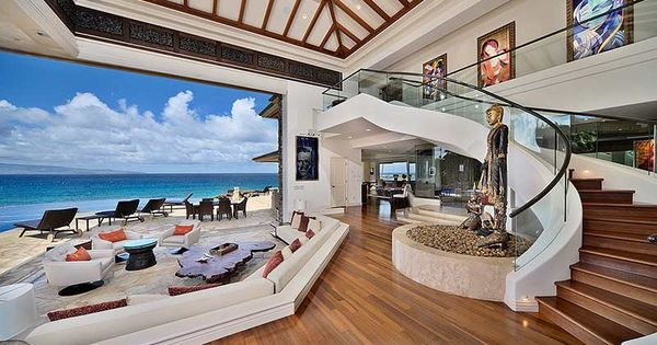 Jewel Of Maui One Of The Most Beautiful Houses In The World. This  Extraordinary Beachfront Estate, On A ¼ Mile White Sand Beach, Is A Rare  Masteu2026