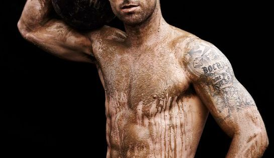 Carlos Bocanegra ESPN Mag Body Issue