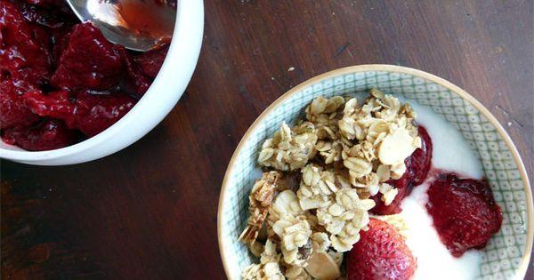 Another granola recipe to try.