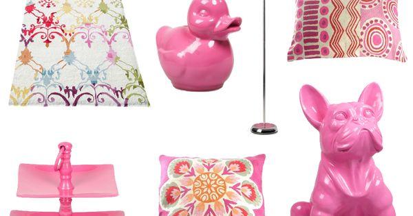 Een roze decoratie geeft een vrouwelijke romantische en uitnodigende noot aan uw interieur - Mode decoratie ...