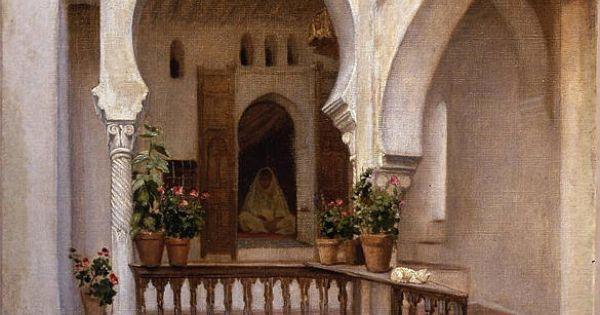 Albert girard femme dans un int rieur alger peintures for Interieur algerie