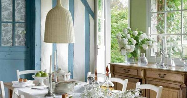 22 French Country Decorating Ideas for Modern Dining Room Decor | Decorating | Pinterest | Room ...