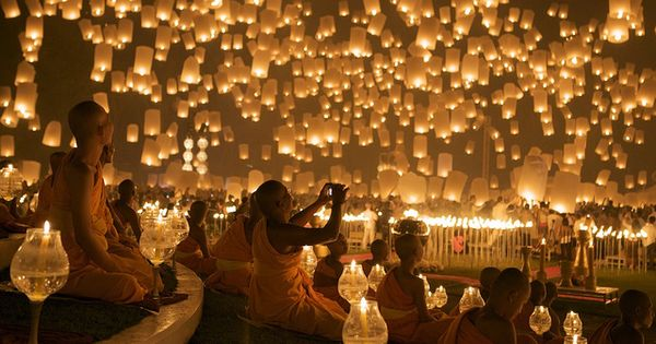 Floating Lantern Festival in Thailand - Definitely on the Bucket List