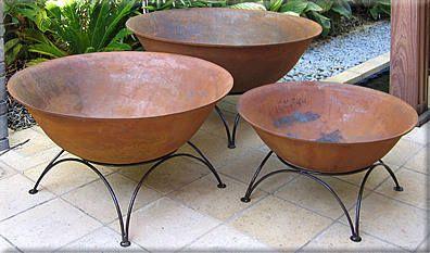 Cast Iron Fire Pits And Chimeneas At Leaf Amp Stone Garden Gallery Braseiras De Quintal Lareira De Quintal Fogo De Chao Jardim