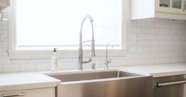An ikea kitchen in san diego half walls pinterest - Kitchen sinks san diego ...