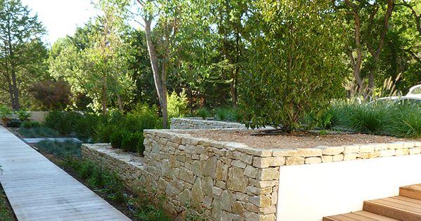 Jardin m diterran en moderne aix en provence architecte - Mobilier de jardin en palette aixen provence ...