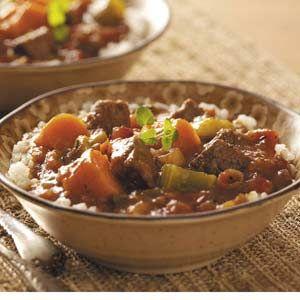 Jamaican Style Beef Stew Recipe Jamaican Recipes Jamaican
