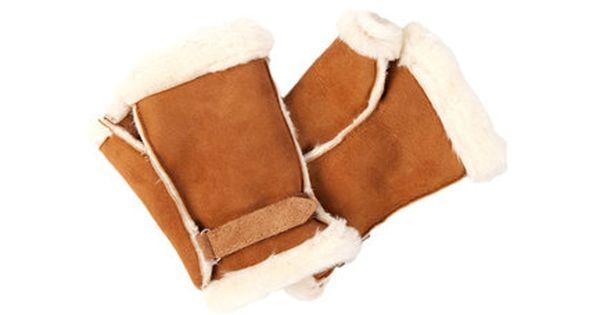Ladies Luxurious Fingerless Sheepskin Gloves Sheepskin Gloves Sheepskin Fingerless