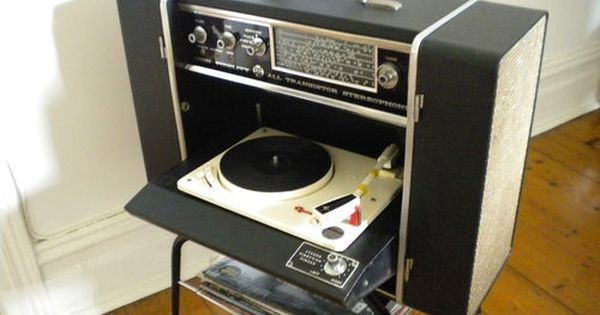 On The Go Record Player Vintage Record Player Vinyl Record Player