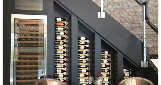 Amenagement Une Cave A Vin Sous L Escalier Wine Cellar Design