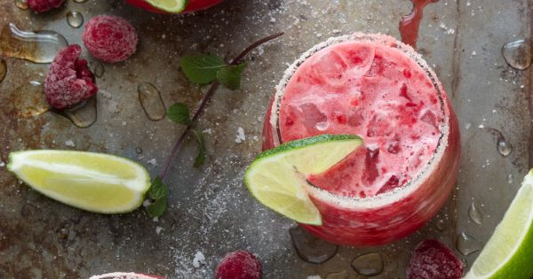 Raspberry Limeade Slush   Recipe   Refreshing Summer Drinks, Summer ...