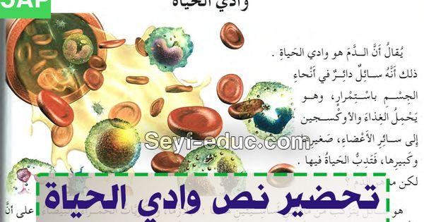 تحضير نص وادي الحياة السنة الخامسة ابتدائي الجيل الثاني Http Www Seyf Educ Com 2019 07 Pre Txt Wadi Hyate 5ap Html Txt Movie Posters Poster
