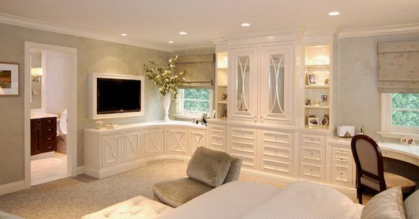 Master bedroom wall units white classic bedroom with wall tv unit bedroom decorating ideas Master bedroom tv wall unit
