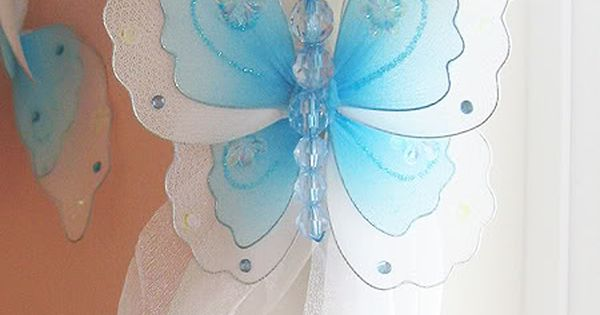 Butterfly Curtain Tiebacks I Loooove These So Easy To Make To Do List Pinterest