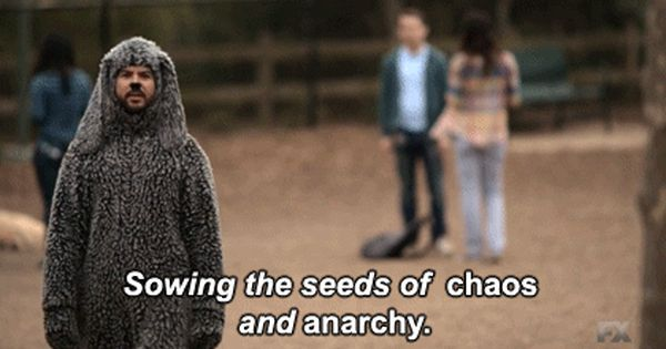 Sowing The Seeds Of Chaos And Anarchy Wilfred It S Always Sunny In Philadelphia Sunny In Philadelphia It S Always Sunny