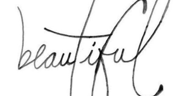 Beautiful script