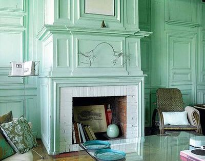 mint wall color