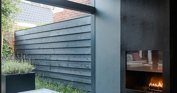 Sfeervolle stadstuin met veranda bart bolier tuinarchitect ontwerp - Claustra ontwerp pour terras ...