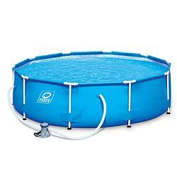 Hydro Force Steel Frame Pool Set 10 Ft X 10 Ft X 30 In Canadian Tire Canadian Tire Steel Frame Steel