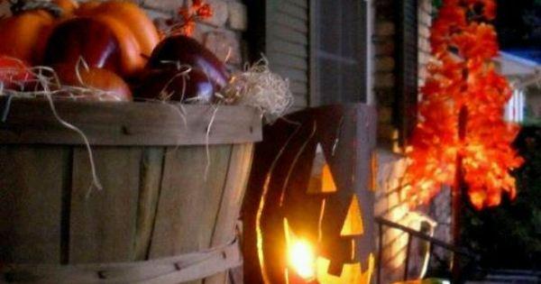 Halloween Porch Decorations... | Halloween | Pinterest ...