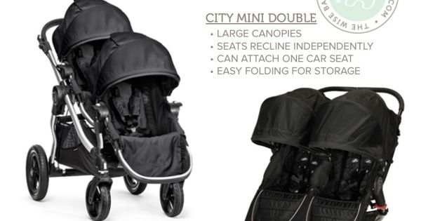 Side By Side Or Tandem Double Stroller Here S A Baby