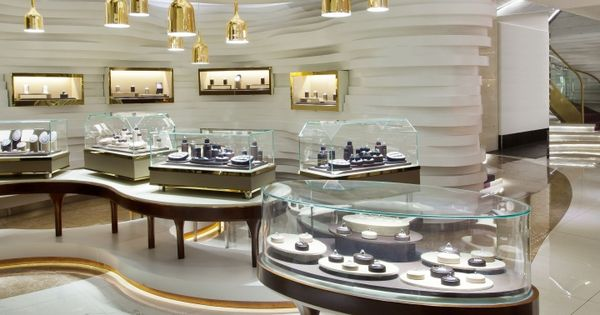 Gemania Jewellery Store By Joey Ho Design Limited, Yibin – China »