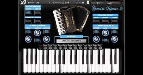 Virtual Acoustic Guerrini Superior 2 Accordion For Ni Kontakt