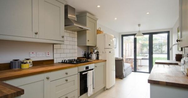 french doors at back of kitchen victorian terrace ideas