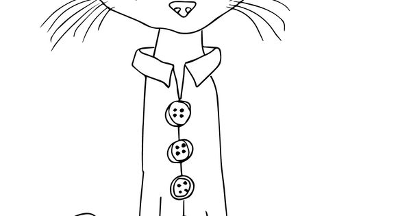 pete the cat and his four groovy buttons coloring page pete the cat. Black Bedroom Furniture Sets. Home Design Ideas