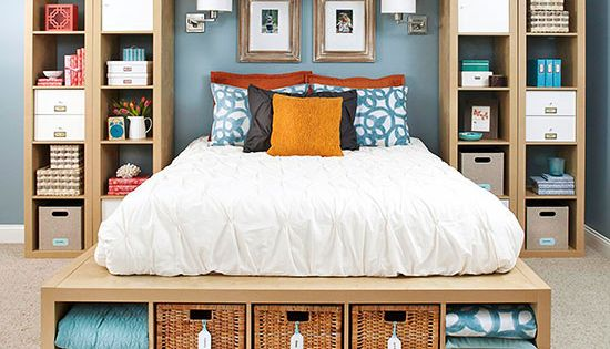 25 creative ideas for master bedroom storage master Rooms without closets creative