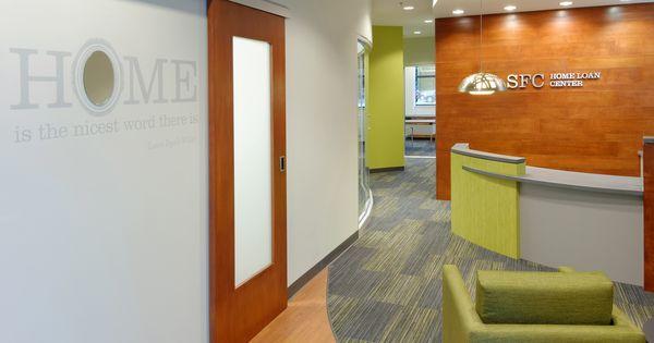 commerical interior design sfc home mortgage center
