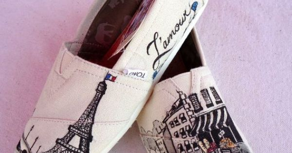 Paris themed Toms Paris Tom, Fashion Shoes, Style, Eiffel Towers, Tom Shoes,