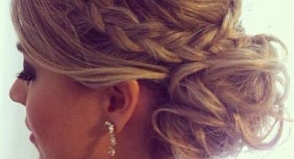 Madrinhas de casamento: Penteados para madrinhas: dos elaborados aos fáceis de copiar More amazing and fantastic hairstyles for every occasion at http://unique-hairstyle.com/best-bridesmaids-hairstyles-for-everyone/
