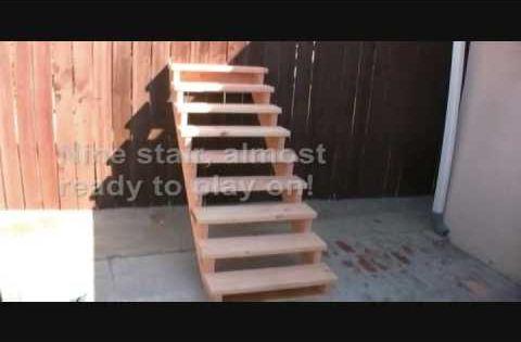 holztreppe selber bauen einfache anleitung und tipps garden pinterest holztreppe selber. Black Bedroom Furniture Sets. Home Design Ideas