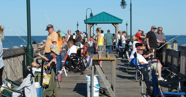 Buckroe beach fishing pier hampton va pinterest for Buckroe beach fishing pier
