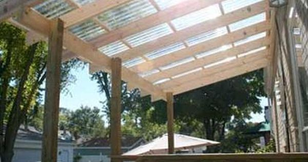 How To Install Polycarbonate Roofing Coops Pinterest
