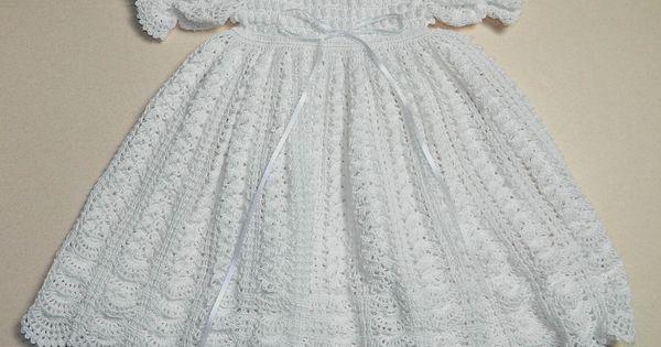 Baby Dress Crochet Pattern Victorian : Victorian+Crochet+Lace+Free+Patterns CHRISTENING CROCHET ...