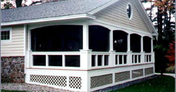 Beautiful porch design l shaped ranch homes barns for L shaped house front porch