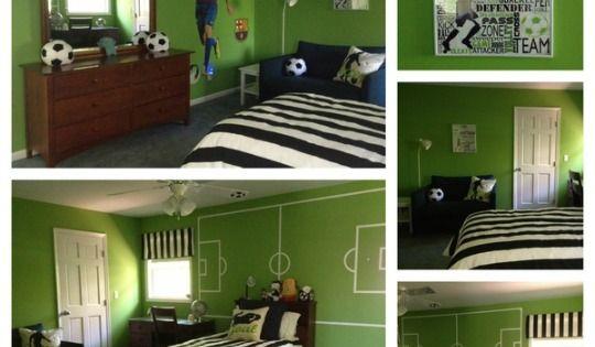 Habitaciones Futbol - Decoracion Infantil Futbol ...