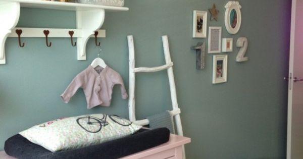 Muur verven woonkamer google zoeken idee n voor het huis pinterest nursery and interiors - Kleur van slaapkamer meisje ...